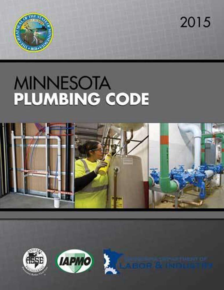 Minnesota Plumbing Code Book