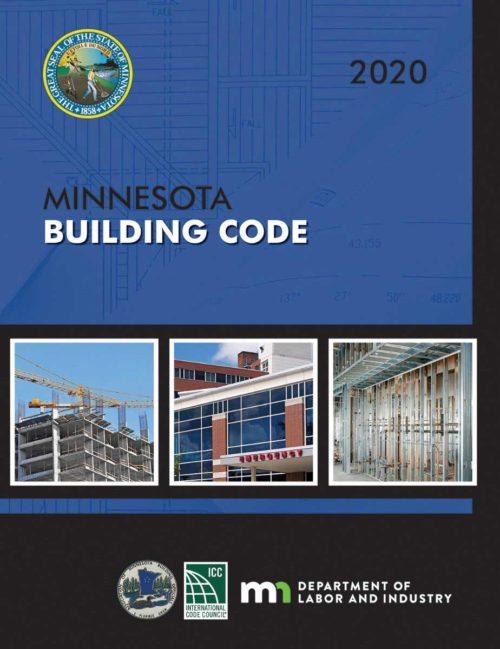 MNSPECT CE: 2020 Minnesota Building Code Book