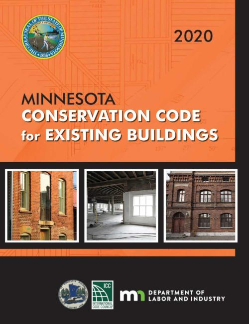 MNSPECT CE: 2020 Minnesota Conservation Code for Existing Buildings Code Book
