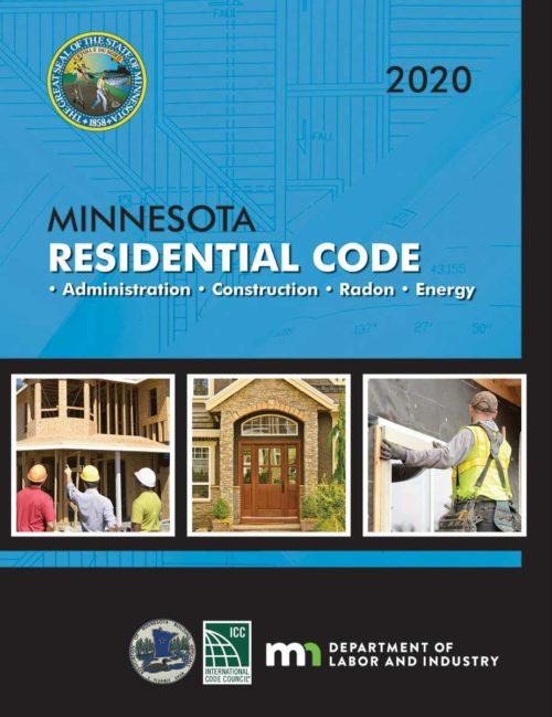 MNSPECT CE: 2020 Minnesota Residential Code Book