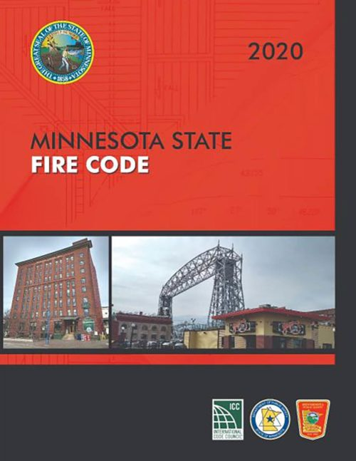Minnesota Fire Code Books